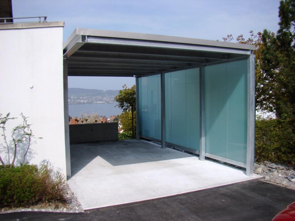 einzel carport stahl baumberger bau ag. Black Bedroom Furniture Sets. Home Design Ideas