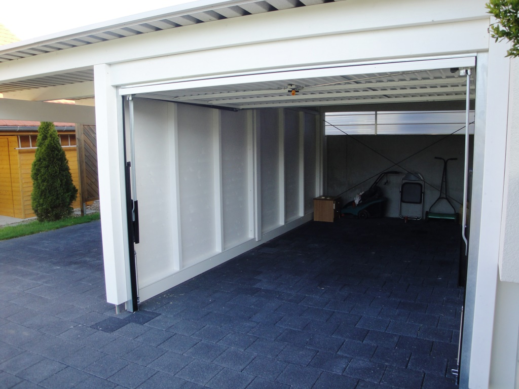 carport mit garage baumberger bau ag. Black Bedroom Furniture Sets. Home Design Ideas