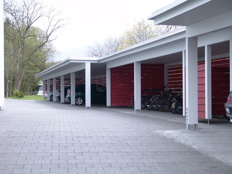 Carport Autounterstand Garage aus Holz | Baumberger Bau AG